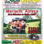 Cerramos el año con Mariachi Azteca