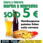¡MARTES Y MIÉRCOLES POR SOLO 5€!